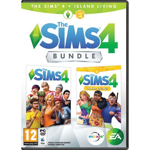 The Sims 4 CZ + The Sims 4: Život na ostrove CZ PC