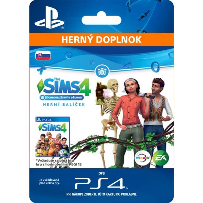 The Sims 4: Dobrodružstvo v džungli (SK)