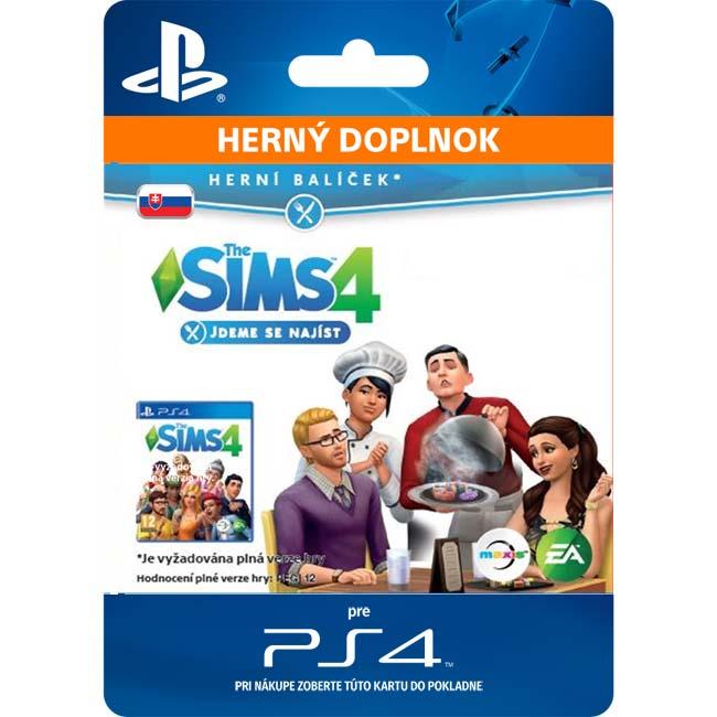 The Sims 4: Ideme sa najesť (SK)