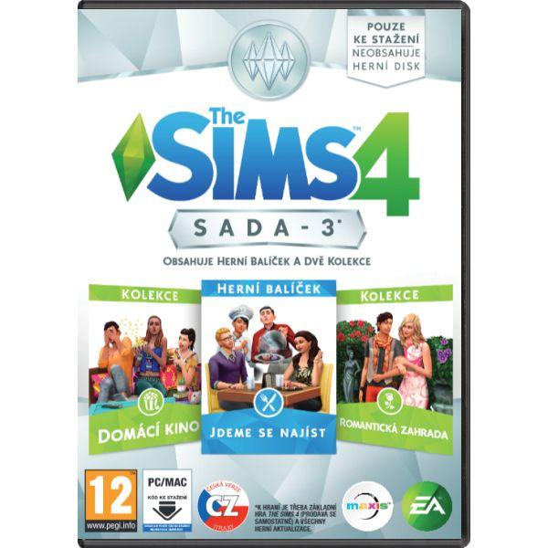 The Sims 4: Sada 3 CZ