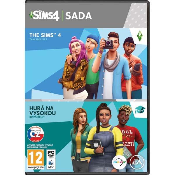 The Sims 4 CZ + The Sims 4: Hurá na vysokú CZ