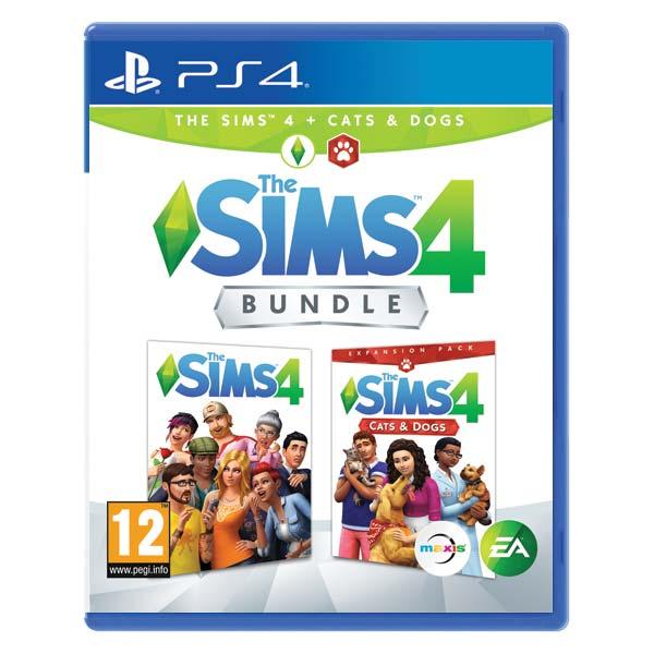 The Sims 4 + The Sims 4: Psy a Mačky  [PS4] - BAZÁR (použitý tovar)