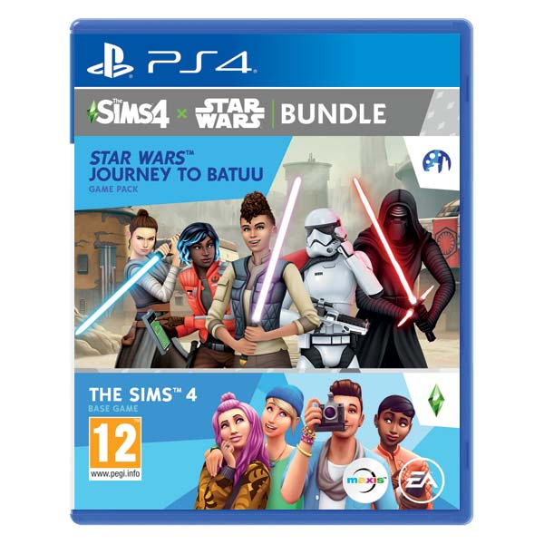 The Sims 4 + The Sims 4 Star Wars: Journey to Batuu PS4