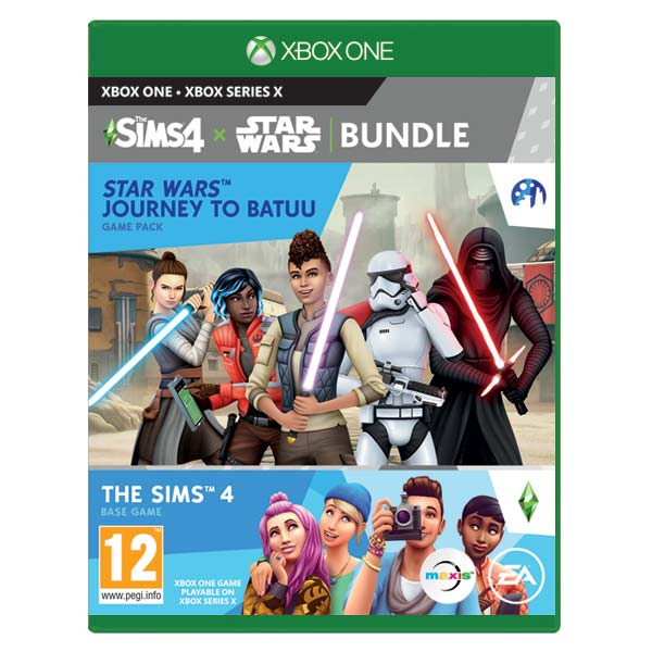 The Sims 4 + The Sims 4 Star Wars: Journey to Batuu XBOX ONE