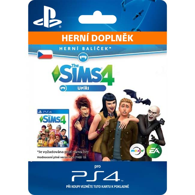 The Sims 4: Upíri (CZ)