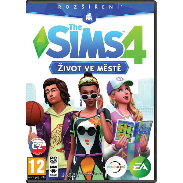 The Sims 4: Život v meste CZ PC CD-key