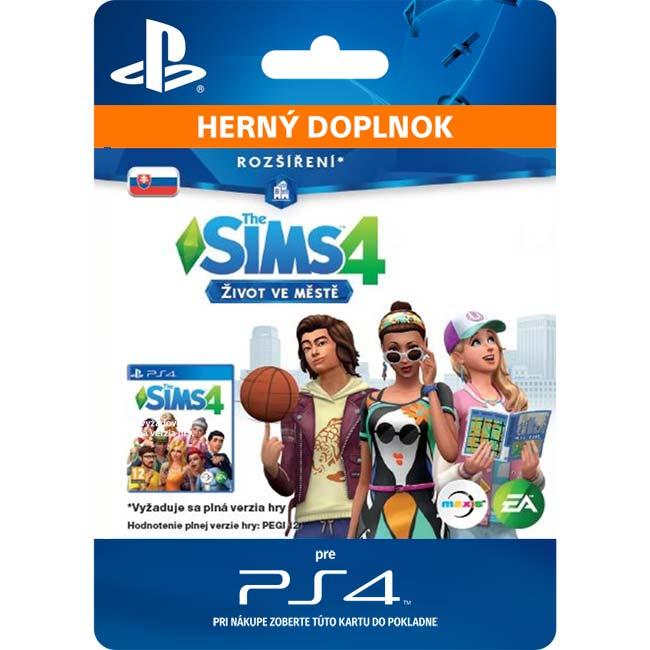 The Sims 4: Život v meste (SK)
