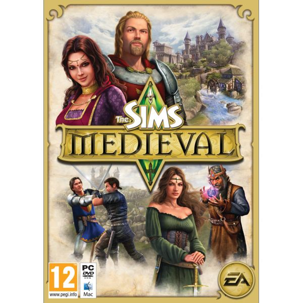 The Sims: Medieval PC CD-key
