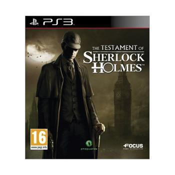 The Testament of Sherlock Holmes-PS3 - BAZÁR (použitý tovar)