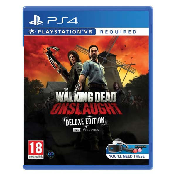 The Walking Dead: Onslaught VR (Deluxe Edition) PS4