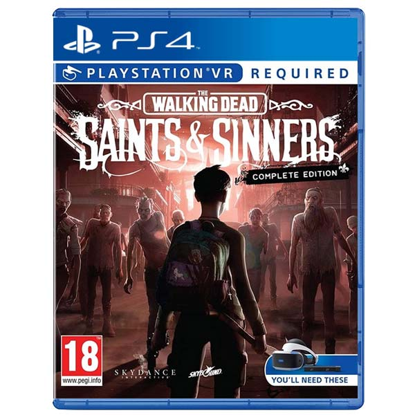 The Walking Dead: Saints & Sinners VR (Complete Edition) PS4