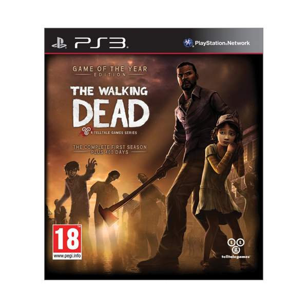 The Walking Dead: The Complete First Season (Game of the Year Edition) PS3