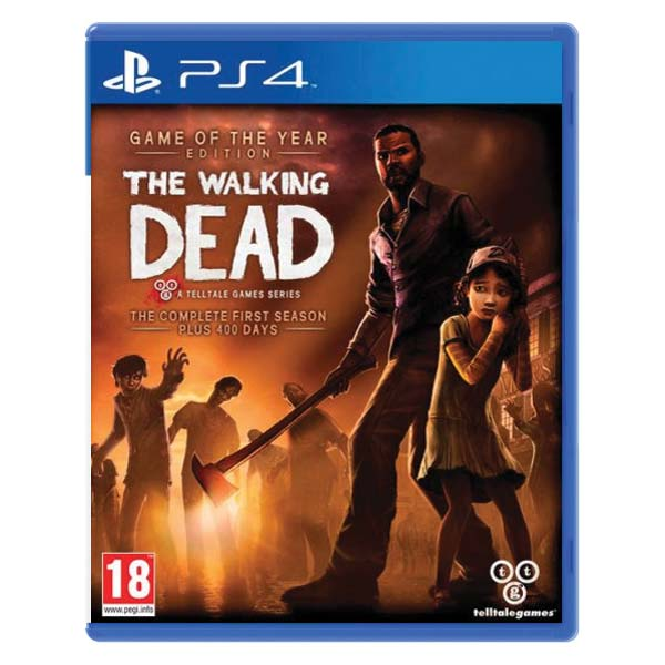 The Walking Dead: The Complete First Season (Game of the Year Edition) PS4