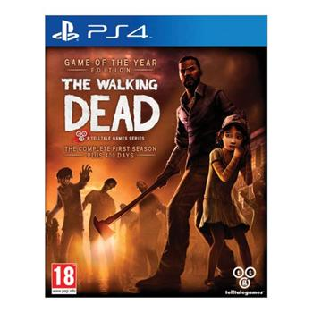 The Walking Dead: The Complete First Season (Game of the Year Edition) [PS4] - BAZÁR (použitý tovar)
