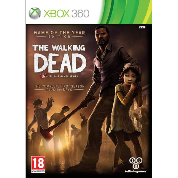 The Walking Dead: The Complete First Season (Game of the Year Edition) XBOX 360
