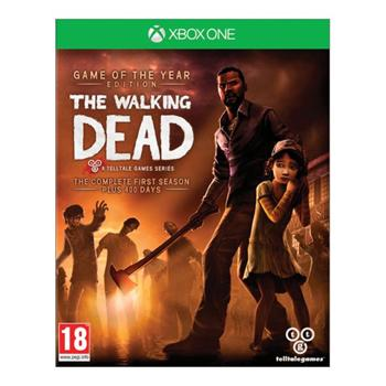 The Walking Dead: The Complete First Season (Game of the Year Edition) [XBOX ONE] - BAZÁR (použitý tovar)
