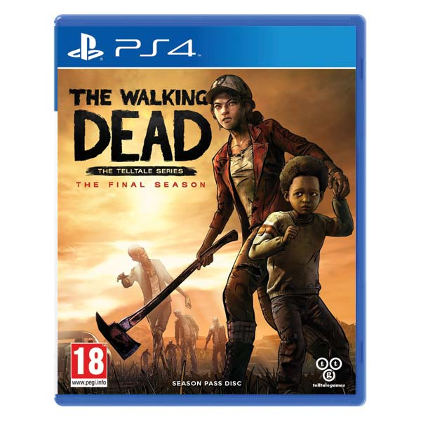 The Walking Dead: The Final Season [PS4] - BAZÁR (použitý tovar)
