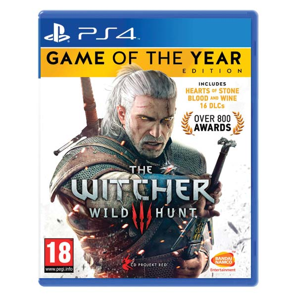 The Witcher 3: Wild Hunt (Game of the Year Edition) [PS4] - BAZÁR (použitý tovar)