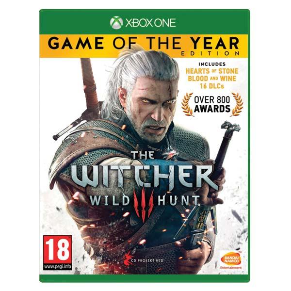 The Witcher 3: Wild Hunt (Game of the Year Edition) [XBOX ONE] - BAZÁR (použitý tovar)