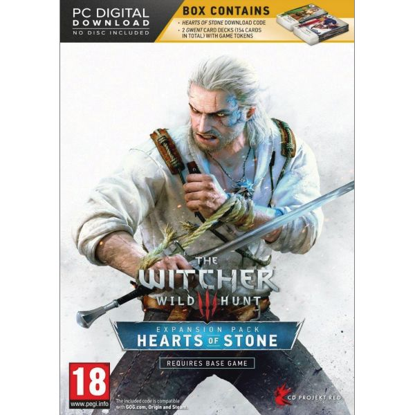 The Witcher 3 Wild Hunt: Hearts of Stone (Limited Edition)