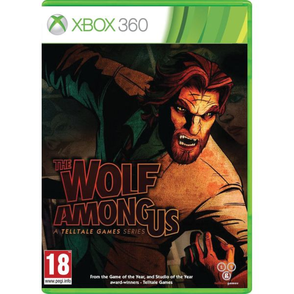 The Wolf Among Us: A Telltale Games Series XBOX 360