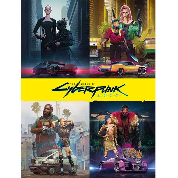 The World of Cyberpunk 2077 komiks