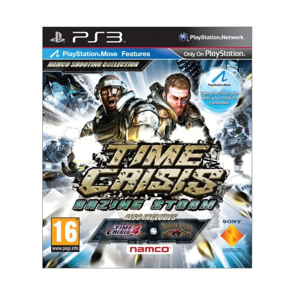 Time Crisis: Razing Storm PS3 - BAZ�R (pou�it� tovar)