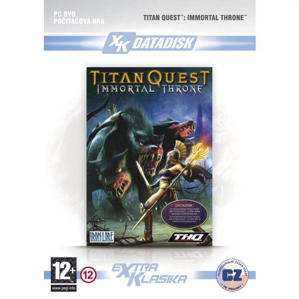 Titan Quest: Immortal Throne CZ