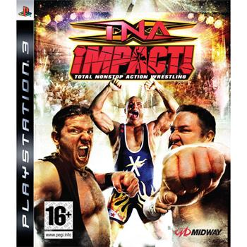 TNA Impact!: Total Nonstop Action Wrestling [PS3] - BAZÁR (použitý tovar)