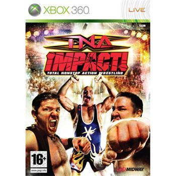 TNA Impact!: Total Nonstop Action Wrestling [XBOX 360] - BAZÁR (použitý tovar)