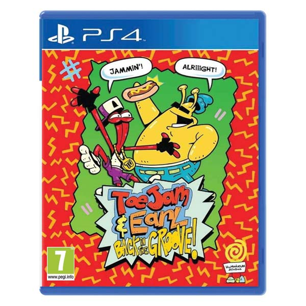 ToeJam & Earl: Back in the Groove PS4
