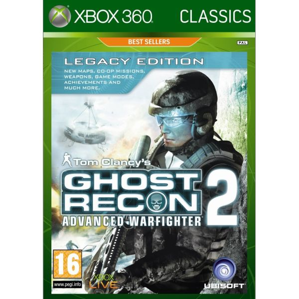 Tom Clancy's Ghost Recon: Advanced Warfighter 2 (Legacy Edition) XBOX 360