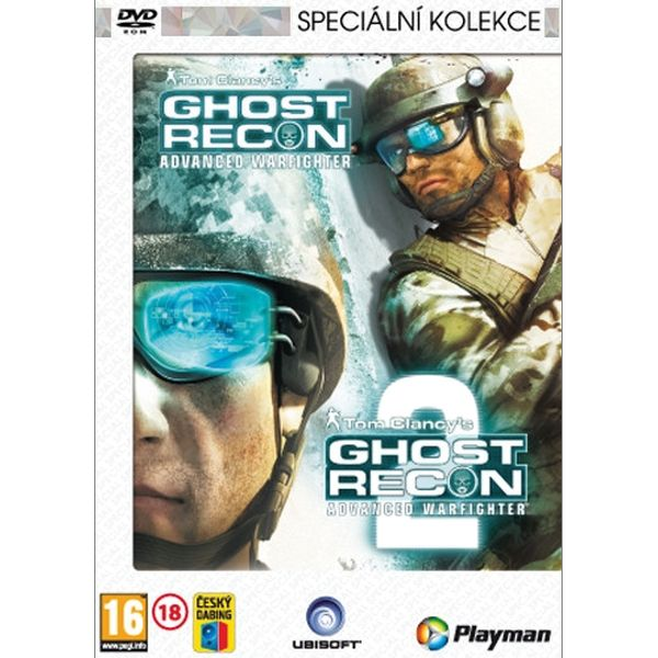 Tom Clancy's Ghost Recon: Advanced Warfighter CZ + Ghost Recon: Advanced Warfighter 2 CZ (Špeciálna kolekcia)