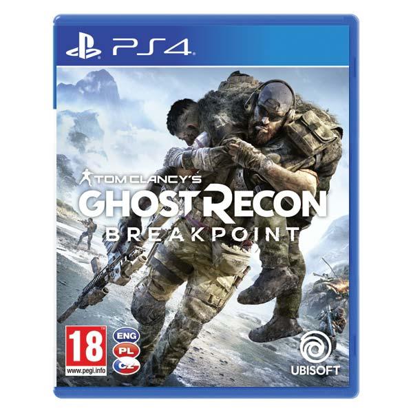 Tom Clancy's Ghost Recon: Breakpoint CZ [PS4] - BAZÁR (použitý tovar)