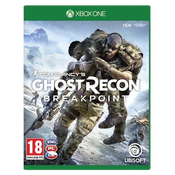 Tom Clancy's Ghost Recon: Breakpoint CZ [XBOX ONE] - BAZÁR (použitý tovar)