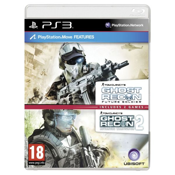 Tom Clancy's Ghost Recon: Future Soldier + Tom Clancy's Ghost Recon: Advanced Warfighter 2 PS3