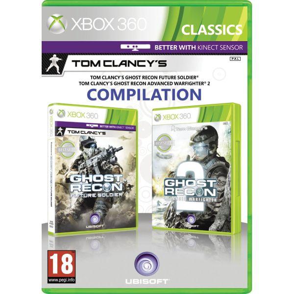 Tom Clancy's Ghost Recon: Future Soldier + Tom Clancy's Ghost Recon: Advanced Warfighter 2 [XBOX 360] - BAZÁR (použitý t
