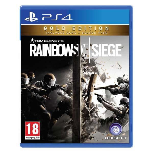 Tom Clancy's Rainbow Six: Siege (Gold Edition) [PS4] - BAZÁR (použitý tovar)