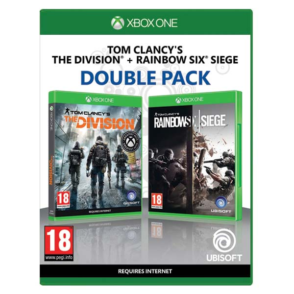 Tom Clancy's Rainbow Six: Siege + Tom Clancy's The Division CZ (Double Pack) XBOX ONE