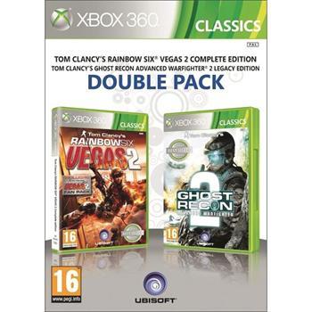 Tom Clancy's Rainbow Six: Vegas 2 + Tom Clancy's Ghost Recon: Advanced Warfighter 2 [XBOX 360] - BAZÁR (použitý tovar)