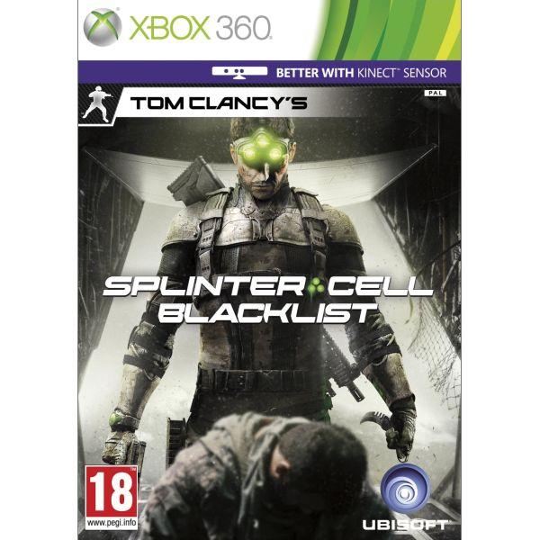 Tom Clancy's Splinter Cell: Blacklist CZ [XBOX 360] - BAZÁR (použitý tovar)