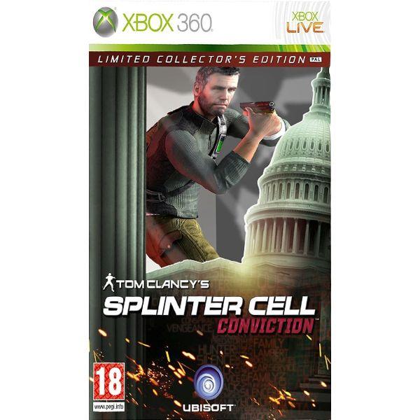 Tom Clancy's Splinter Cell: Conviction (Limited Collector's Edition) [XBOX 360] - BAZÁR (použitý tovar)