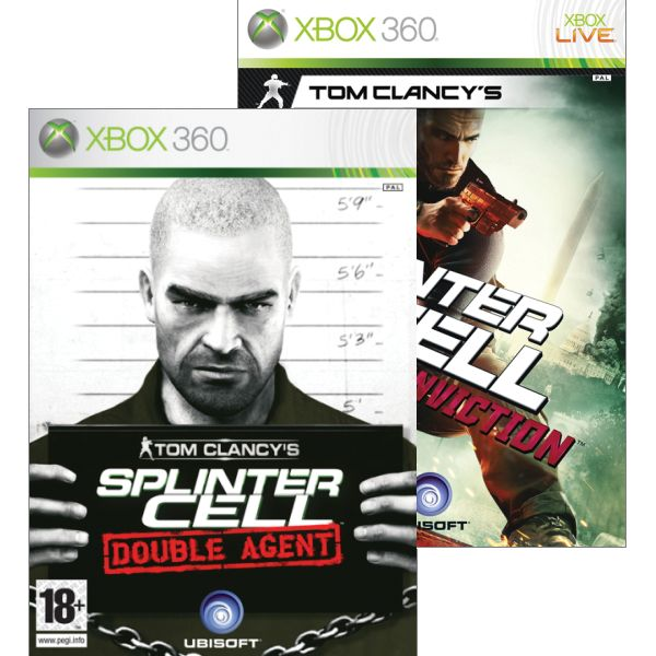 Tom Clancy's Splinter Cell: Double Agent + Tom Clancy's Splinter Cell: Conviction