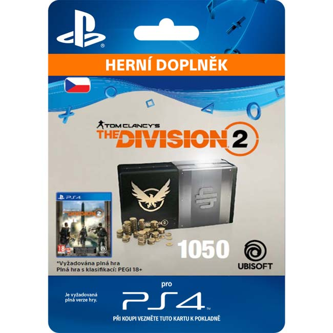 Tom Clancy's The Division 2 (CZ 1050 Premium Credits Pack)