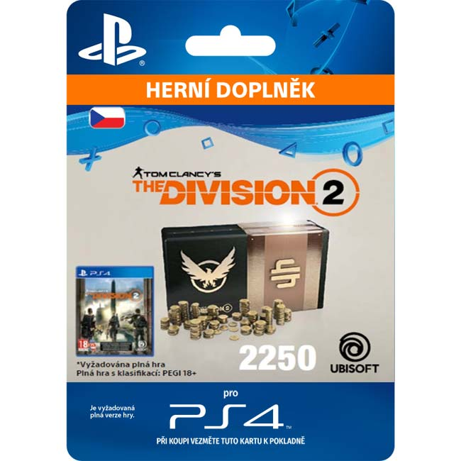 Tom Clancy's The Division 2 (CZ 2250 Premium Credits Pack)