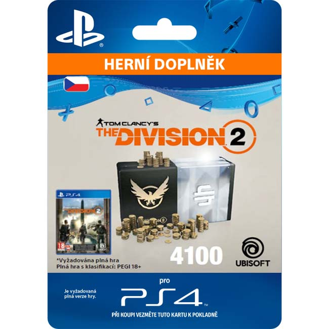 Tom Clancy's The Division 2 (CZ 4100 Premium Credits Pack)
