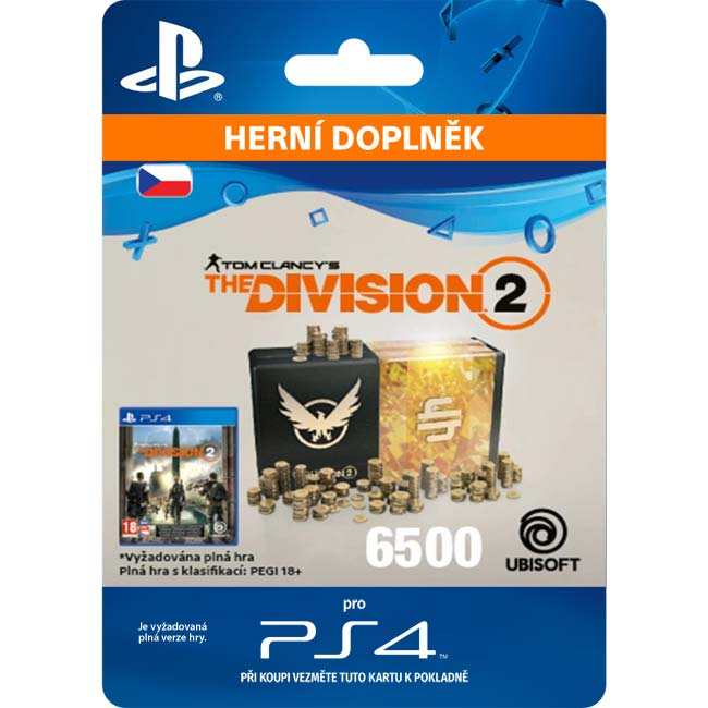 Tom Clancy's The Division 2 (CZ 6500 Premium Credits Pack)