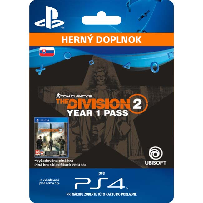 Tom Clancy's The Division 2 (SK Year 1 Pass)
