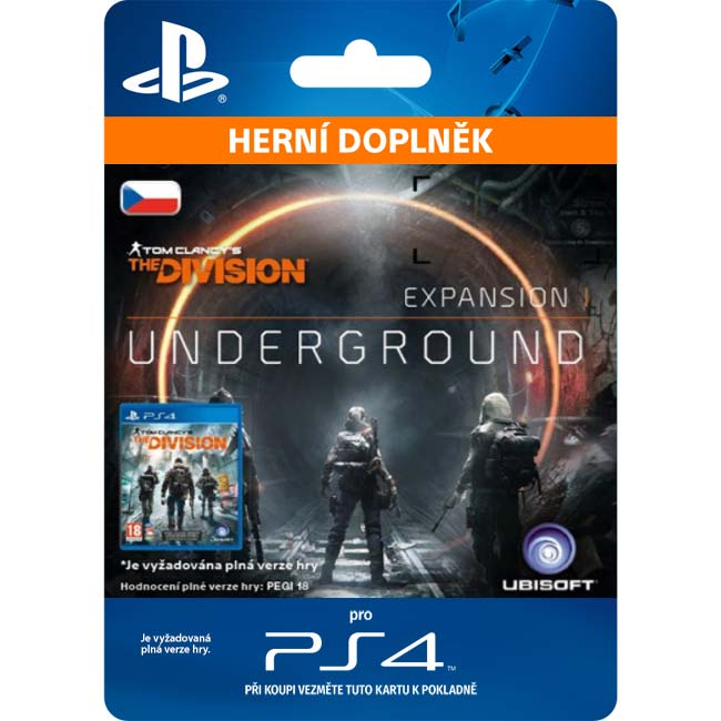 Tom Clancy's The Division CZ (CZ Underground)