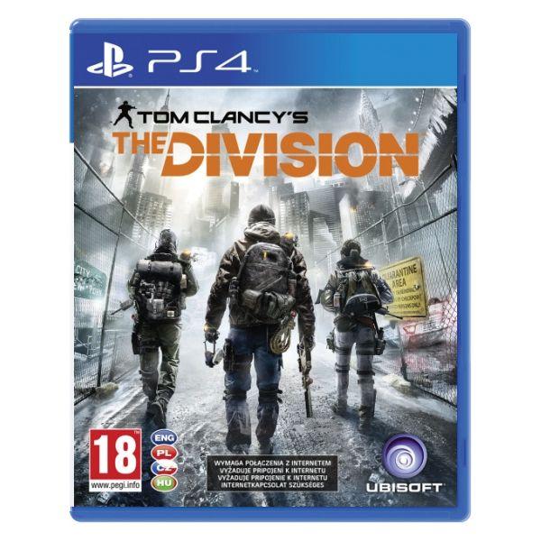 Tom Clancy's The Division CZ [PS4] - BAZÁR (použitý tovar)